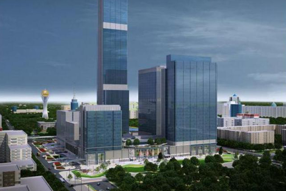 Abu Dhabi Plaza project image for the WMG website